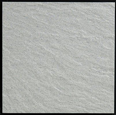 Amazon | 砂岩調300角 タイル 磁器質無釉 薄灰色(グレー) 内外床・壁用 ファインスレート 295x295x8mmmm 30cm | タイル