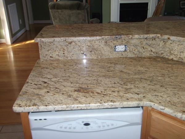 Colonial Gold Granite Countertops | Http://www.fireplacecarolina.com | Granite  Countertops | Charlotte NC | Pinterest | Granite Countertops, Countertops  And ...
