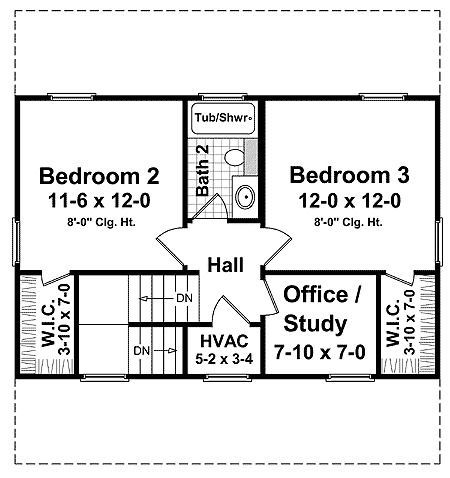 2 Bedroom House Plans also Possibly Floor Plans furthermore House Plan 39191ST likewise 010g 0009 likewise Ranch Style House Plans With 3 Car Garage 3d. on two car garage apartment plans