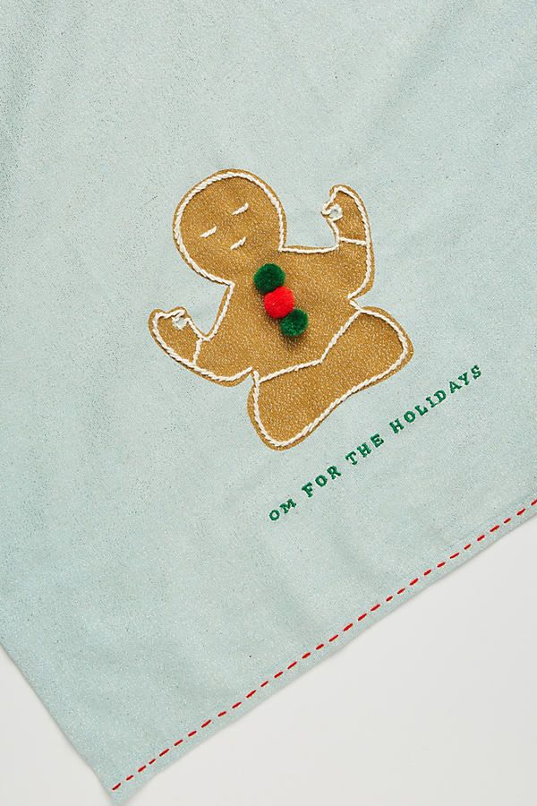 Dear Hancock Om For The Holidays Dish Towel In 2020 Holidays