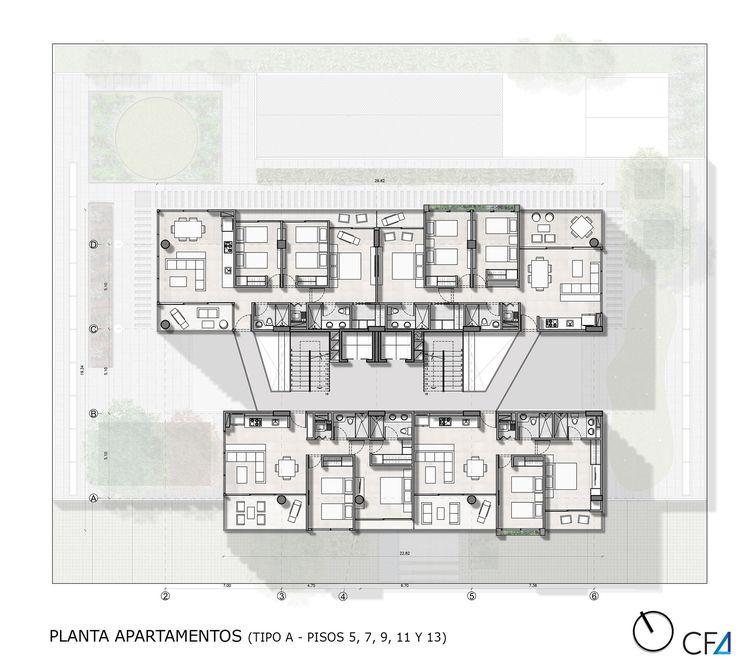 Primer Lugar Proyecto Puerto Salguero,Planta