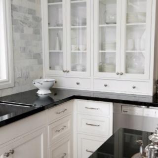 41 best Kitchen tile backsplash white black images on Pinterest