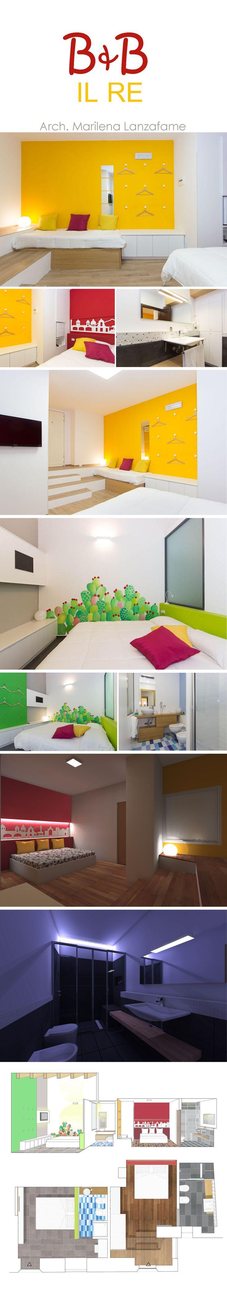 #b&bilre #catania #ficodindia #castelloursino #design #architecture #interior #project #docciaemozionale #greenroom #redroom