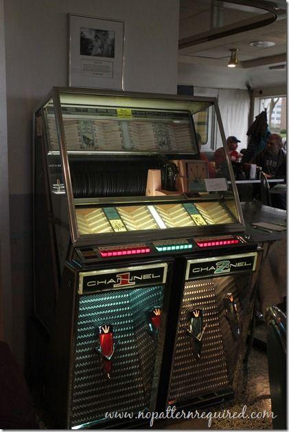 Vintage jukebox at Miss Katie's Diner in Milwaukee