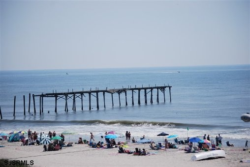 View from 5914 Central Ave located at the Southend of Ocean City before its final destruction from Hurricane Sandy.