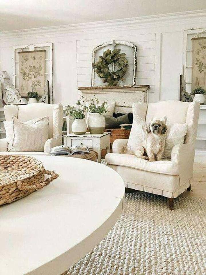Farmhouse Design Tugs At The Heart As It Lures The Senses With Elements Of An Earlier Si Farm House Living Room French Country Living Room Country Living Room