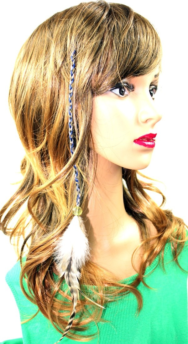 39 best colored hair extensions images on pinterest colored hair most popular clip in braid extension w wild feather endavailable on http pmusecretfo Image collections