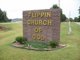 Flippin, AR. Pinned from a Christian