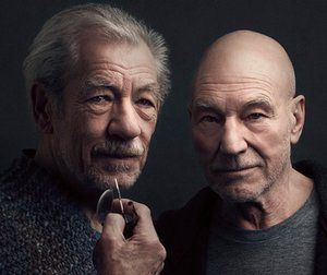 Returning as Spooner and Hirst … Ian McKellen and Patrick Stewart.