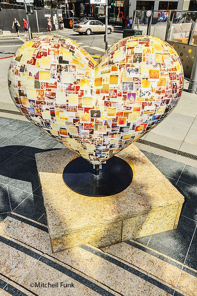 Union Square Heart San Francisco By Mitchell