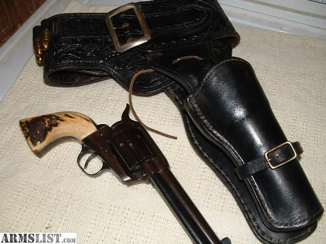 ARMSLIST - For Sale: COLT 45 SAA SECOND GENERATION FIRST SERIES (1957)AND COLT BELT AND HOLSTER