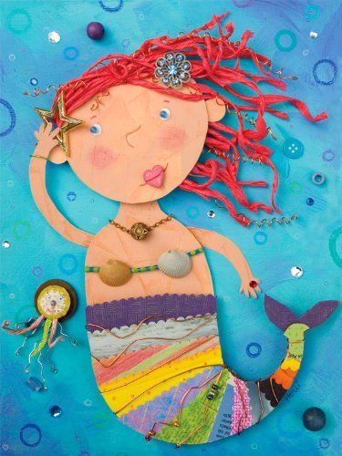 Oopsy daisy Mermaid Treasures Canvas Stretched Art by Holli Conger, 18 by 24-Inches by Oopsy daisy, Fine Art for Kids. $121.61. Made in the Unites States. Sawtooth makes it easy to hang. Giclee on canvas. No framing required. Wipes clean with damp cloth. Our children's stretched canvas wall art reproductions are created in Oopsy daisy's San Diego studios where we print in the best digital method currently available, achieving great clarity and color resolutio...