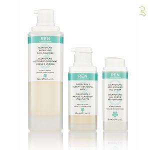 Le système ClearCalm 3 de REN Skincare combat les 3 causes responsables de l'acné et réduit l'inflammation associée sans irritation. Une alternative performante et non irritante au traitement acnéique classique: rétinol, péroxydase de benzoyle... #clearcalm #ren #skincare #soin #visage #acne #peaugrasse #naturel #cosmetiques #eshop #paris www.officina-paris.fr