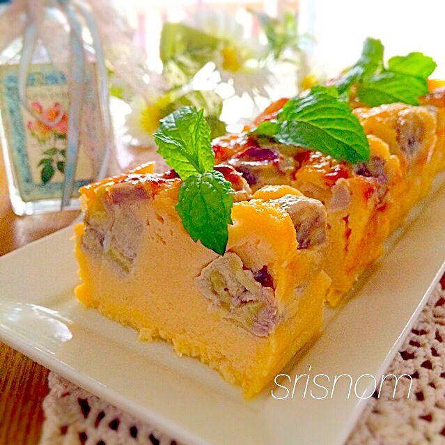 昨夜、くみちゃんが作ってたひろりんのバナナカスタードケーキを見て、即キッチンへ…遅い時間だったけど焼いて冷やしておきました♡ おりぃちゃんやともちゃんがひろりん作のぐんまちゃんとリラックマでデコしてて可愛かったやつ(o^^o) くみさんもハルちゃんも可愛いのがそばにいたね♪ 麻里ちゃんの真似っこで生クリームをヨーグルトにしたよ。 ひろりん、簡単美味しいレシピありがと〜(o^^o) みなさん食べ友よろしくお願いします♪ - 184件のもぐもぐ - ひろりんの超簡単♫混ぜるだけ♫ バナナカスタードケーキ♡ by srisnom