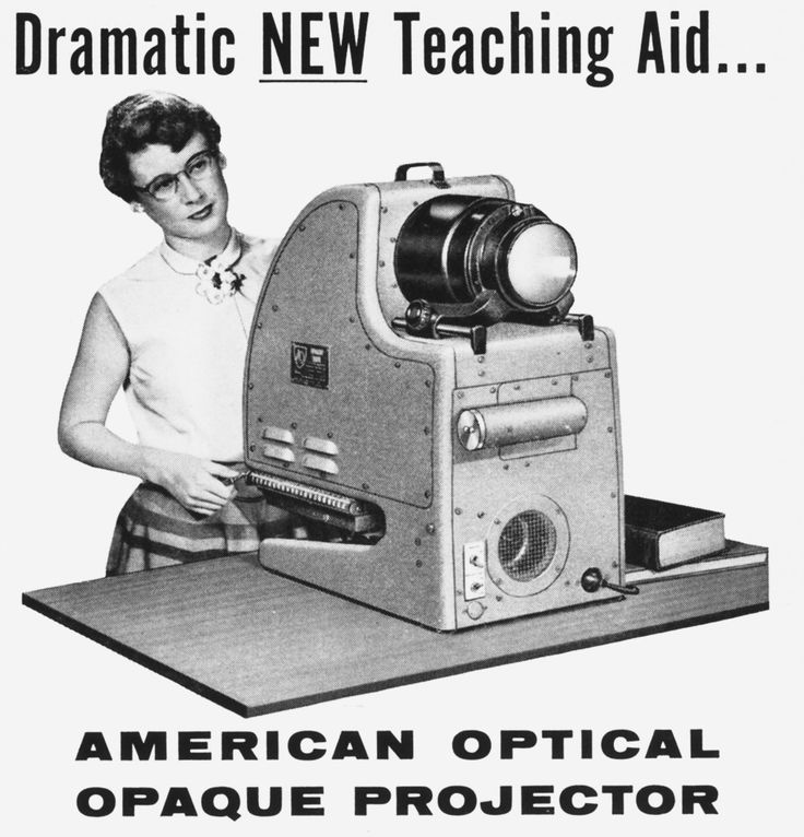 mudwerks:    1950sunlimited:    American Optical, 1955 - Southbridge, Massachusetts    Learn…or Die