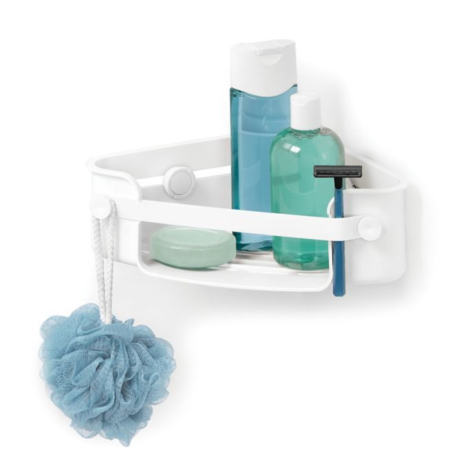 Umbra Flex Gel Lock Corner Shower Caddy Corner Shower Caddy