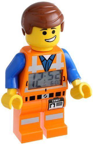 LEGO Kids' 9009945 Emmet Figurine Alarm Clock
