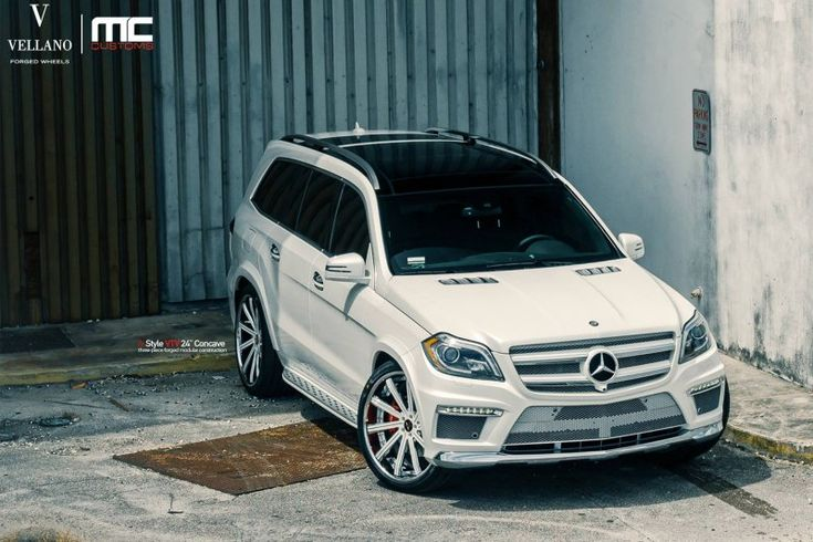 Mercedes-Benz GL550 в настройке MC Customs