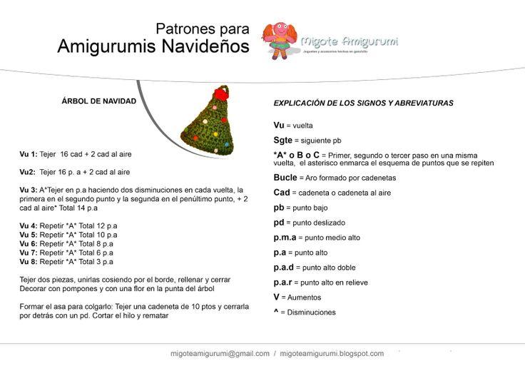 Patrón gratis amigurumi de arbol de navidad original | Ganchillo ... | 520x736