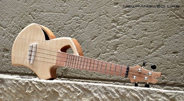 Murray Kuun Newfangled ukulele 2012 Natural Wood | Reverb