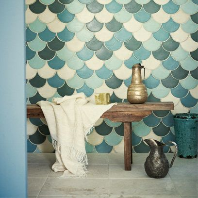 Fired Earth Tiles, Bohemian Bathrooms, Homewares, Interiors. Not going to happen, but love this so much!