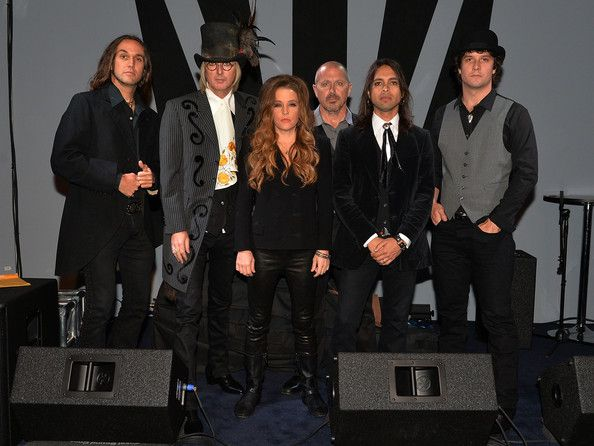 Lisa Marie Presley Photos Photos - Lisa Marie Presley and Band backstage at 3rd & Lindsley during the 14th Annual Americana Music Festival & Conference -  Day 3 on September 20, 2013 in Nashville, United States. - 14th Annual Americana Music Festival & Conference - Festival - Day 3