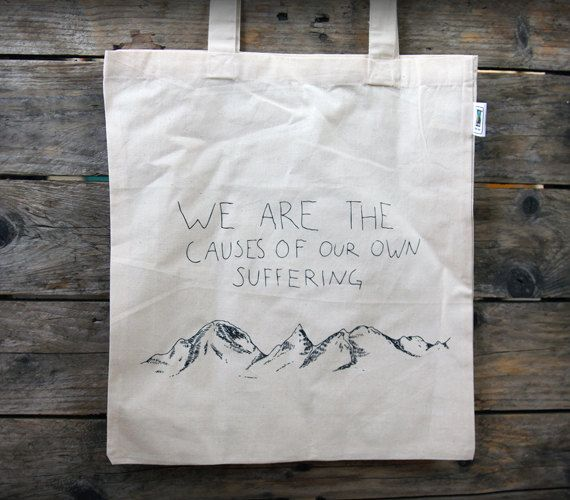 The Causes fair trade tote bag free shipping by OurBrokenHouse, kr200.00
