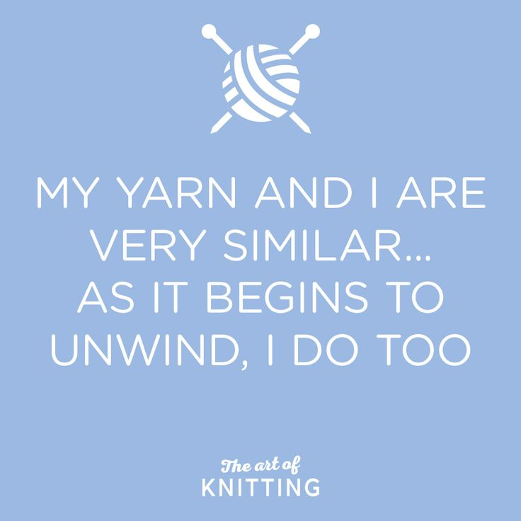#knit #knitting #yarn #quote
