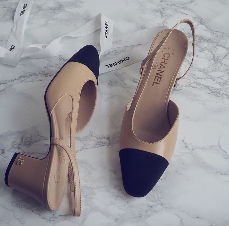 ___ Shoes| Chanel [ Similar here, here and here ] ___ Well, hello Chanel sling back shoes, ahh I wanted these beauties for so long, but I kept thinking whether I really wanted them and if sI did, woul