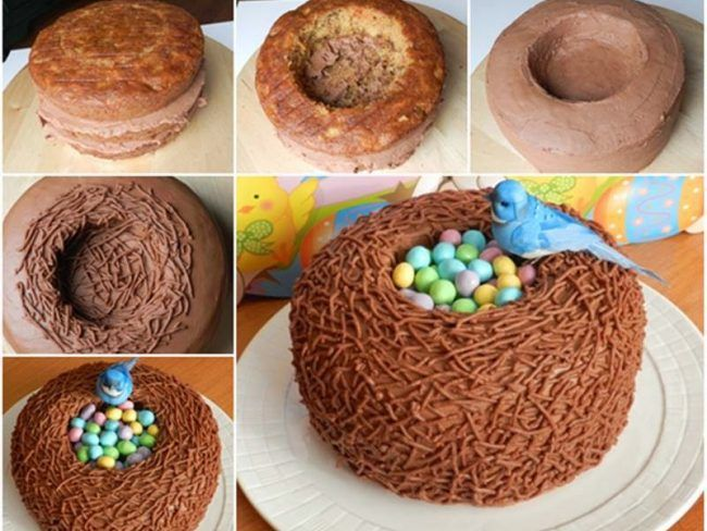 Υπεροχο Πασχαλινό κέικ καλάθι - Daddy-Cool.gr