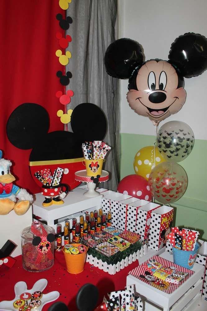 Mickey Mouse Y Sus Amigos Birthday Party Ideas