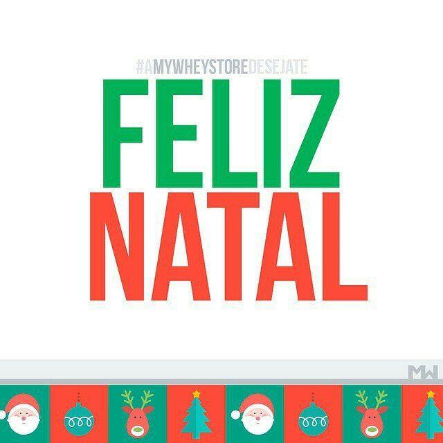 A equipa da #MyWheyStore deseja-te um #FelizNatal! :)
