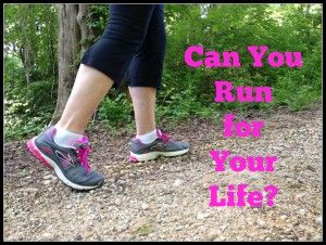 Could you grab your child or grandchild and run to safety? A lot of us aren't as fit and strong as we need to be. Can You Run for Your Life? A prepper's plan for getting physically fit.