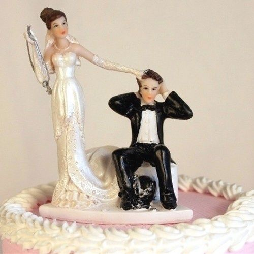 funny wedding cake figures quot and chain quot wedding cake topper wedding cake 14568