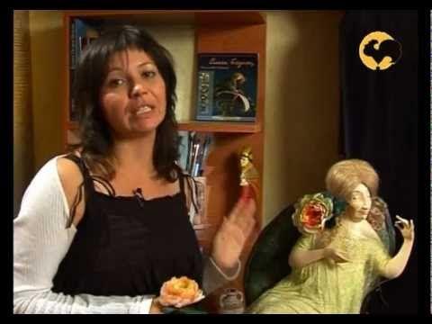 Авторская кукла 7. Розы из тафты, Прическа