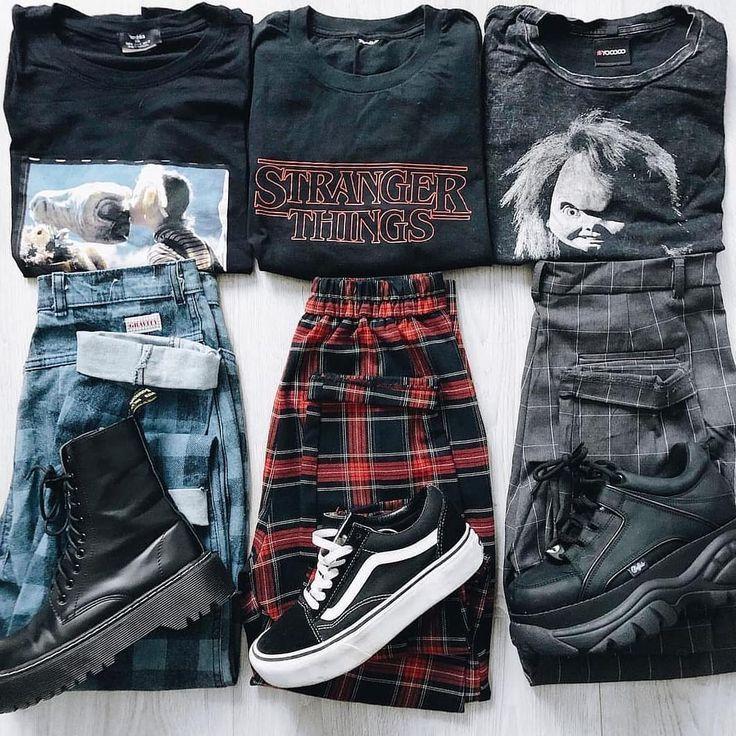 """grunge / vintage / streetwear 🏁 auf Instagram: """"Links, rechts oder mittendr"""