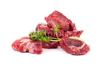 Beef Stew On White