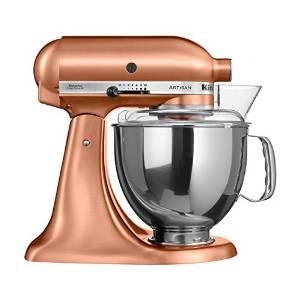 KitchenAid 5KSM150 - food processors (Copper, Stainless steel, 50/60 Hz): Amazon.co.uk: Kitchen & Home