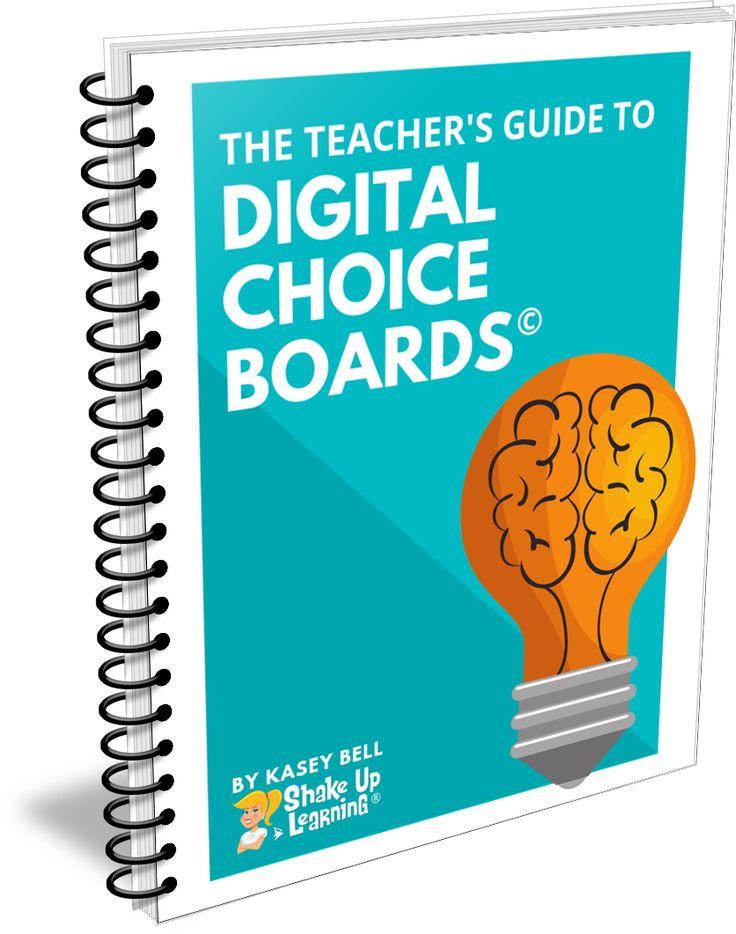 The Teacher's Guide to Digital Choice Boards – SULS008 (FREE eBook!)   Shake U…