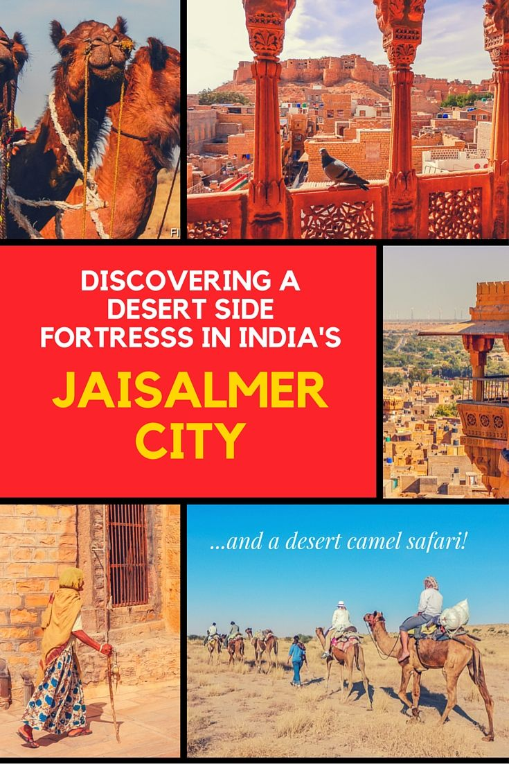 Discover and stay at the ancient Golden Fort in Jaisalmer, India. A magical city within towering walls overlooking the Thar Desert which you can explore on Camel back.