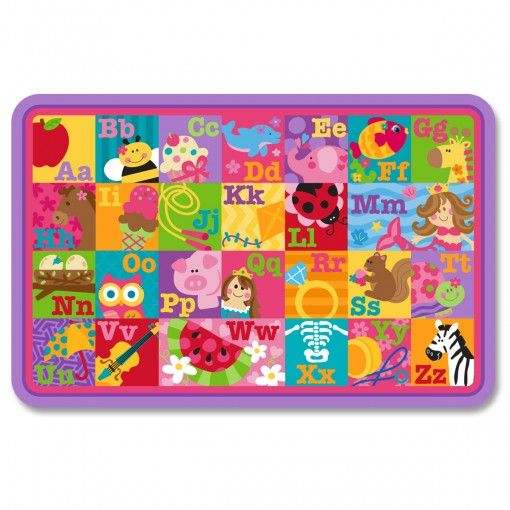 ABC Girl Placemat Possum Pie Stephen Joseph Arts and Crafts, Gifts and Toys, Bags and Backpacks