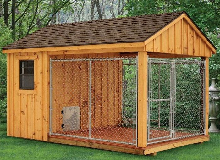25 Best Outdoor Dog Kennel Ideas – The Paws   Dog kennel outdoor, Outdoor dog house, Kennel ideas outdoor