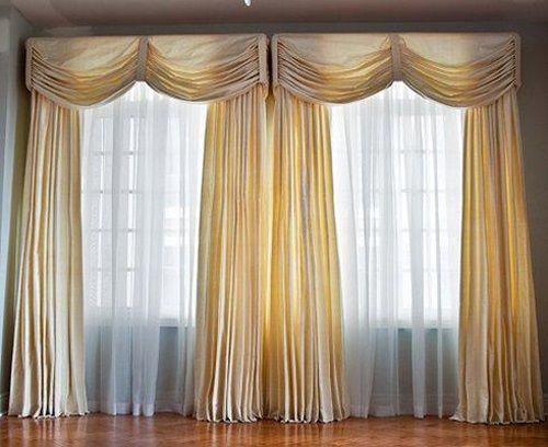 17 best images about drapery valances jabots cascades for Elegant window curtains