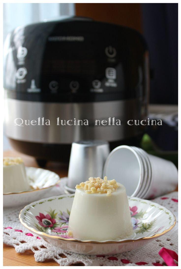Bianco mangiare antica ricetta | Quella lucina nella cucina #redmond #multicooker