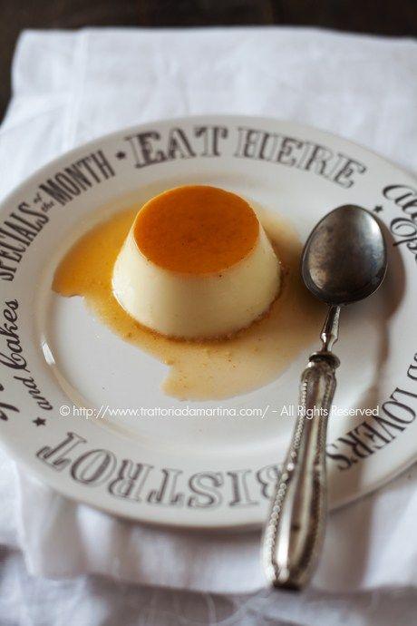 Il creme caramel alla vaniglia è il nome francese di un un dolce di origine francese semplice, cremoso e molto gustoso.
