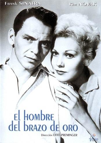 El hombre del brazo de oro (1955) EEUU. Dir: Otto Preminger. Drama. Drogas - DVD CINE 15