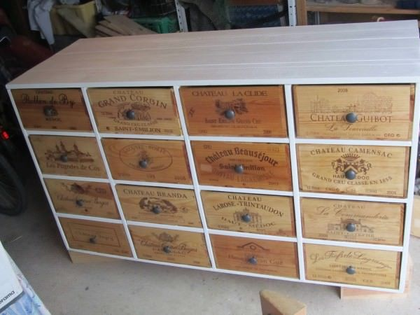 Shoe Storage From Pallets & Wine Boxes Entrance Pallet Projects Pallet Cabinets & Wardrobes