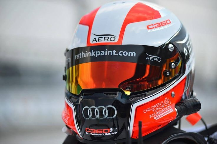 Jim McGuire's helmet that Andy Blackmore designed and Censport painted
