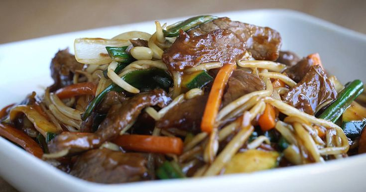 Fabulosa receta para Chop Suey de Ternera
