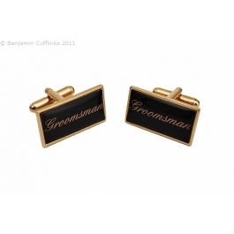 Custom Cufflinks - Can be made with any wording, initials etc